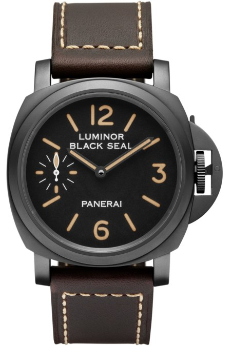 Panerai Luminor Black Seal 8 Days Acciaio DLC