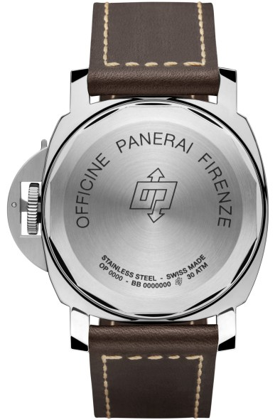 Panerai Luminor Daylight 8 Days Acciaio - 44 mm reverso