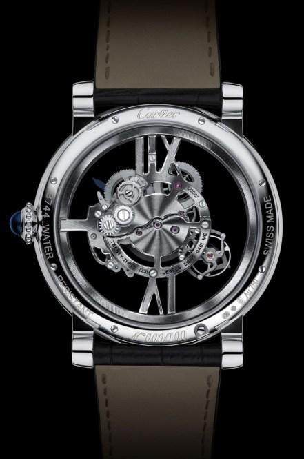 Rotonde De Cartier Astrotourbillon Skeleton - reverso