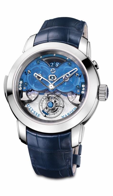 Ulysse Nardin Imperial Blue frontal