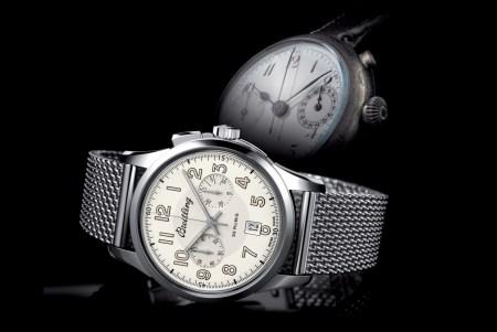 Breitling Transocean Chronograph 1915 y original