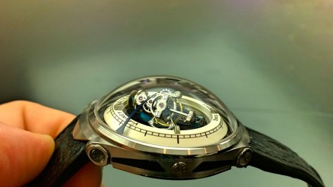 Deep Space Tourbillon - Vianney Halter - Lateral