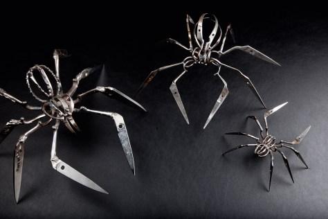 Arañas tijera