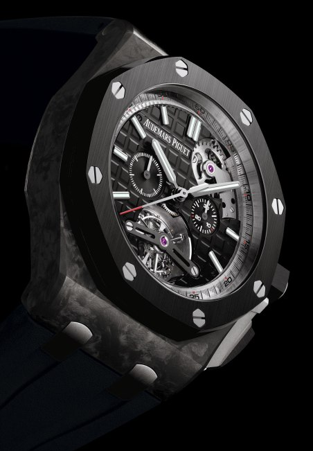 Audemars Piguet Royal Oak Offshore Selfwinding Tourbillon Chronograph - perfil