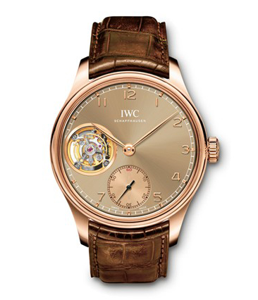 IWC Portuguese Tourbillon Manual Metropolitan Boutique Edition