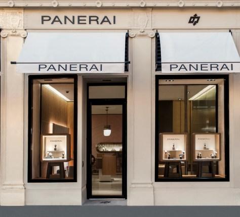 Panerai - boutique Nueva York fachada