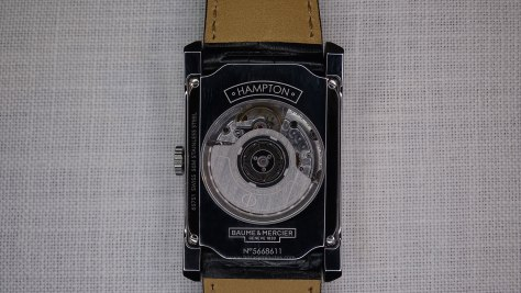 Baume & Mercier Hampton  calibre