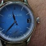 En la muñeca: Funky Blue, el reloj más sexy de H. Moser & Cie.