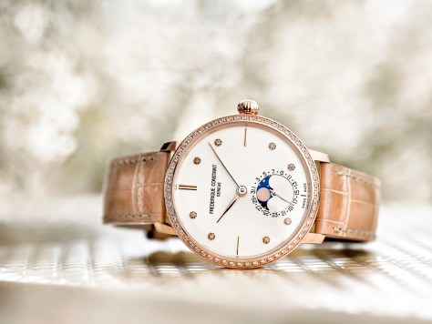 Slimline Moonphase Manufacture For Women amb