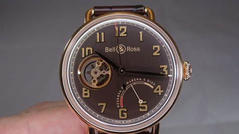 Bell and Ross Vintage WW1 Edición Limitada esfera frontal