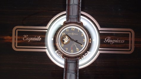 Bell and Ross Vintage WW1 Edición Limitada sobre vitola