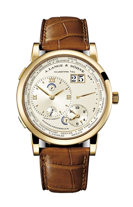 Lange 1 Time Zone oro amarillo