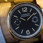 En la muñeca: Panerai Luminor Marina 8 days