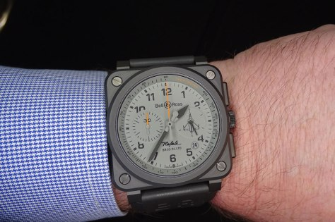 SIAR 2015 - Bell and Ross BR 03 92 Rafale en la muñeca