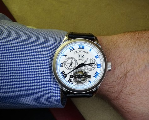 SIAR 2015 - Chopard L.U.C 150 All in One en la muñeca