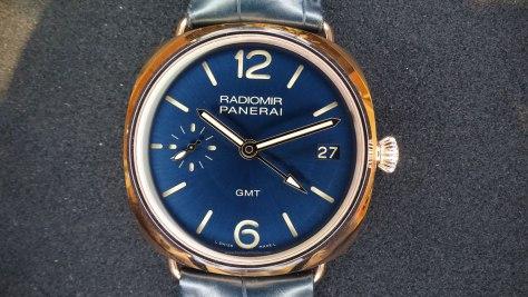 SIAR 2015 - Panerai Radiomir GMT oro rojo