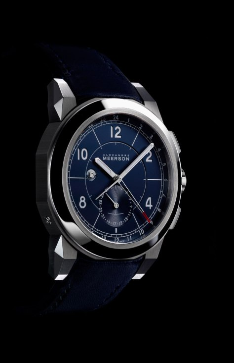 Alexandre Meerson D15 MK-1 GMT azul