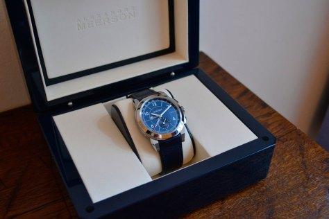 Alexandre Meerson D15 MK-1 GMT en su caja