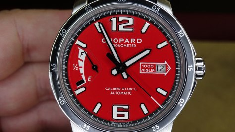 Chopard Mille Miglia Race Edition frontal