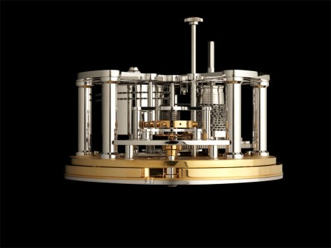 Thomas Mercer Classis Calibre TM0801 lateral