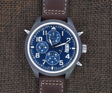 IWC Pilot's Watch Double Chronograph Edition Le Petit Prince cenital
