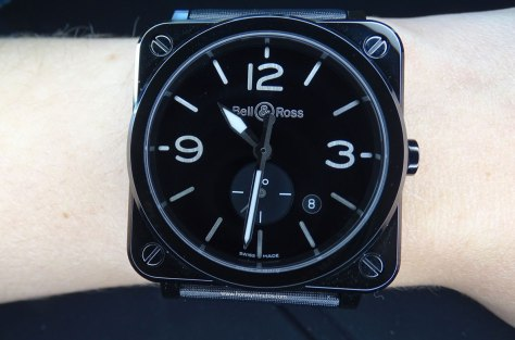 Bell Ross BR S Black Ceramic