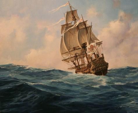 Ulysse Nardin Marine Diver Hispania - Fragata española 1700 de Ferrer Dalmau