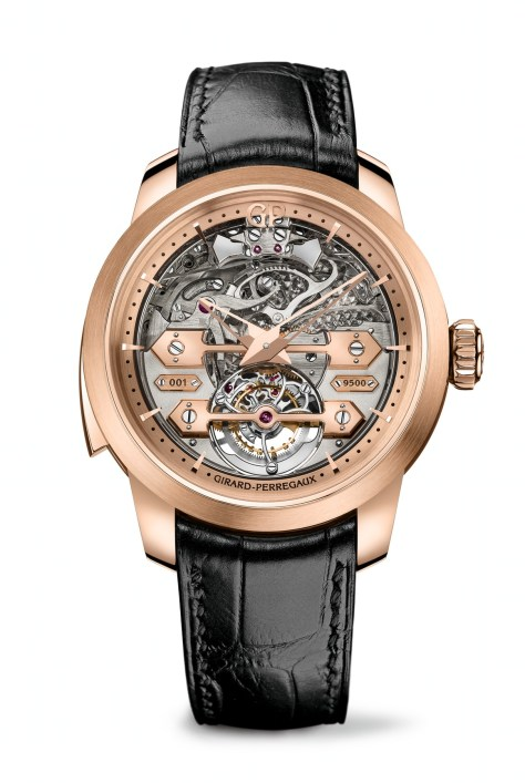 Girard Perregaux Minute-Repeater Tourbillon with Gold Bridges