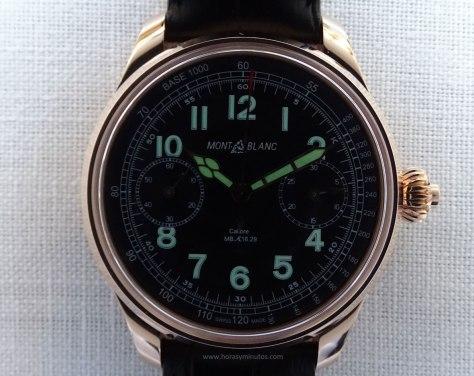 Montblanc 1858 Chronograph Tachymeter Edición Limitada SuperLuminova