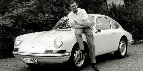 ferdinand-alexander-porsche-901-en-1963-horasyminutos