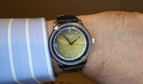 Glashütte original Sixties Iconic Golden 1