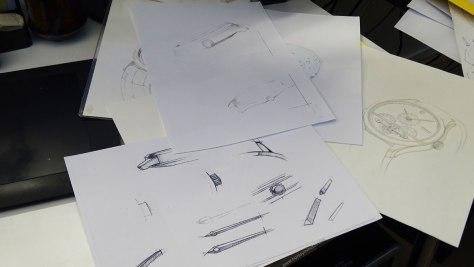 Manufactura Montblanc - departamento de diseño