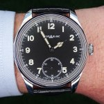 En la muñeca: Montblanc 1858 Small Second
