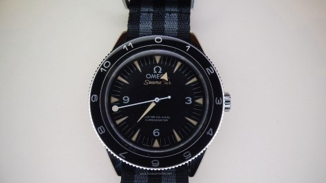OMEGA Seamaster 300 Spectre Limited Edition frontal