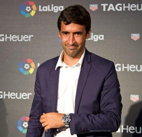 TAG-Heuer-Cronometrador-de-La-Liga-Raul-Gonzalez-Horasyminutos