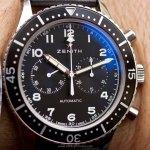 Zenith Heritage Cronometro Tipo CP-2: fotos en vivo y precio