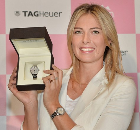 tag heuer sharapova
