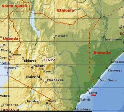 Lamu port (Kenya) - Ethiopia - South Sudan corridor