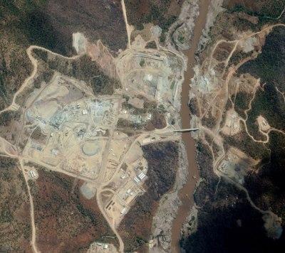 Grand Ethiopian Renaissance dam project site