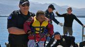 Photo - Somaliland, Ethiopia migrant boat survivor Greece coast
