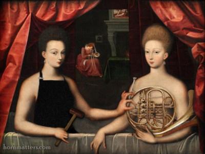 Gabrielle d'Estrées et une de ses sœurs