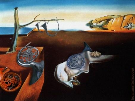 Salvador Dali, Persistence of Memory parody