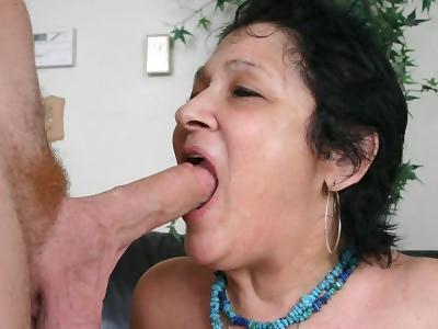 very old grandma naked