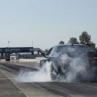 Does the SRT Hellcat live up to the hype?  Watch these guys try to put the power down, and fail