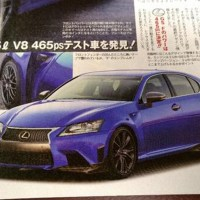 The 500+ HP, 5.0 V8 Lexus GS-F is coming, finally.