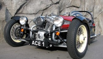 Ace Cycle Car - Morgan 3 Wheeler Replica