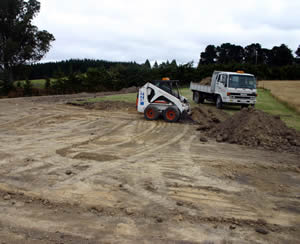 The big dig: a byproduct of arena construction is a large quantity of topsoil. It will cost to cart it away so consider ways of putting it to use. Perhaps it could be shaped into a bund to provide shelter for your arena or home?