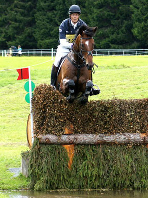 William Fox-Pitt and Parklane Hawk at Blair Castle in 2010.