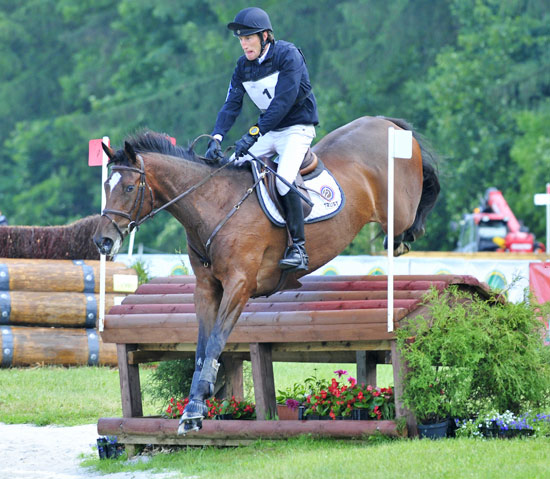Dirk Schrade and Cosima 201 won the CIC1*, and the German rider was also second with Cisko A.