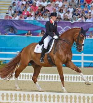 Bronze medalist Laura Bechtolsheimer and Mistral Hojris.
